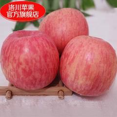 【洛川苹果】陕西苹果洛川苹果新鲜红富士苹果水果12枚80mm