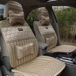 飞石 飞石 车用座椅冰丝座垫8件套-米色GW-S02Y GW-S02Y