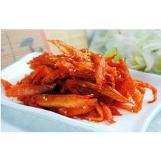 韩式特色美食-香辣明太鱼丝(250g)图片