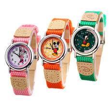 迪士尼/DISNEY米奇双圈数字手表 双色皮带儿童认知手表PC21J机芯10352