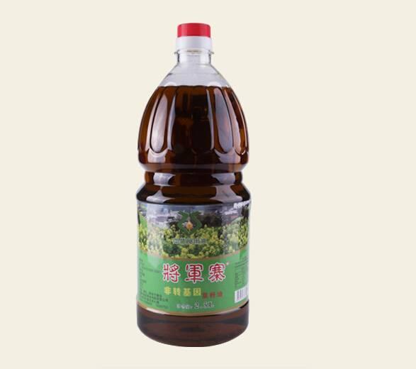 将军寨纯正菜籽油 2.5L