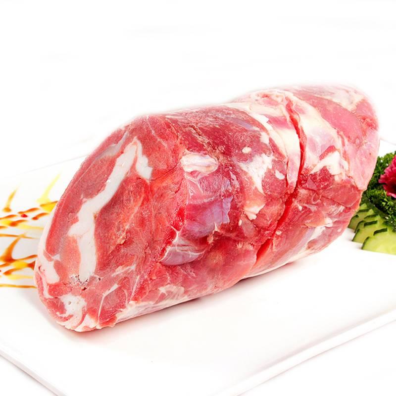 新疆羔羊肉 生鲜羊肉大卷2.5Kg 真空排酸冷冻新鲜羊肉