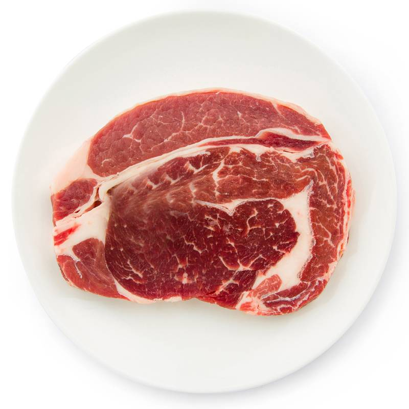 新疆牛肉 生鲜牛上脑2斤 草原清真牛肉 原切牛扒 非腌制上脑牛排