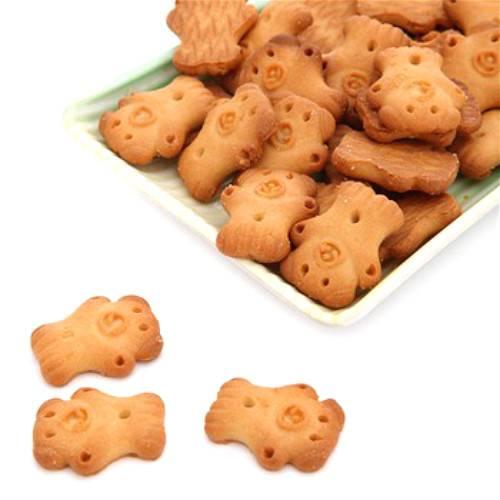 【邮乐河南】熊仔饼干 50g*10袋 (奶香味+朱古力味)