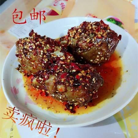 【四川特产】翠皮香  麻辣兔头  80g